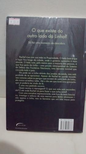 livro a linha - teri hall - sebo refugio cultural