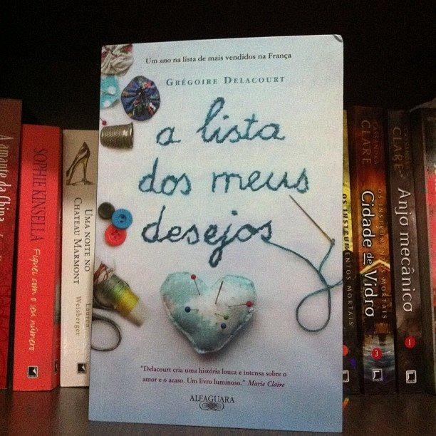 752ec2ad3b Livro A Lista Dos Meus Desejos, Grégoire Delacourt - R$ 24,90 em ...