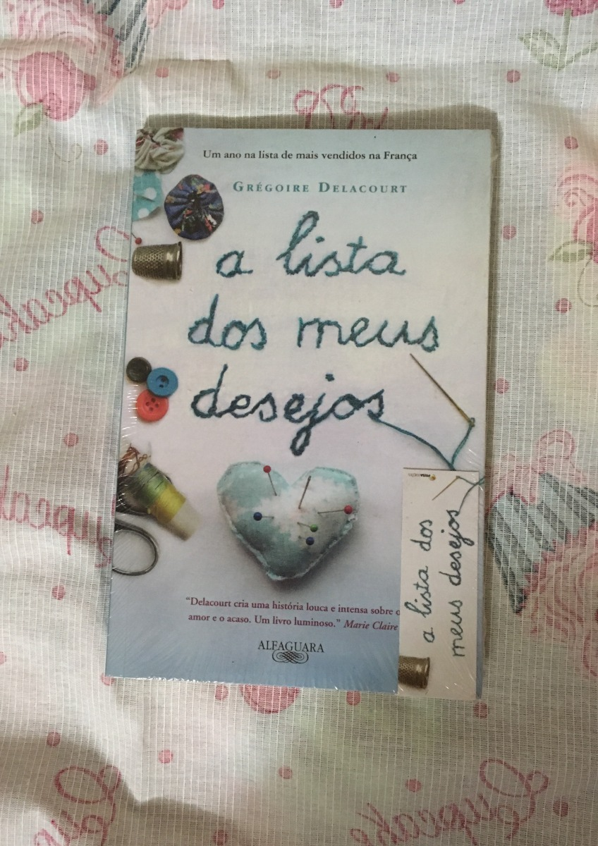 fd5851588e Livro A Lista Dos Meus Desejos - Novo - R$ 40,00 em Mercado Livre