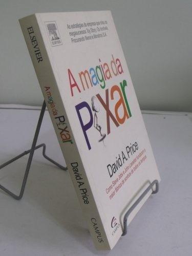 livro - a magia da pixar - david a. price