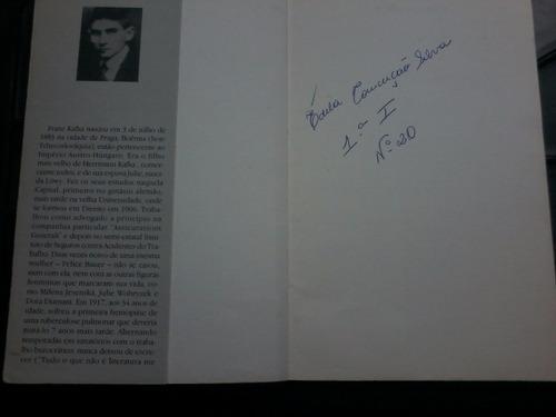 livro - a metamorfose - kafka - literatura estrangeira