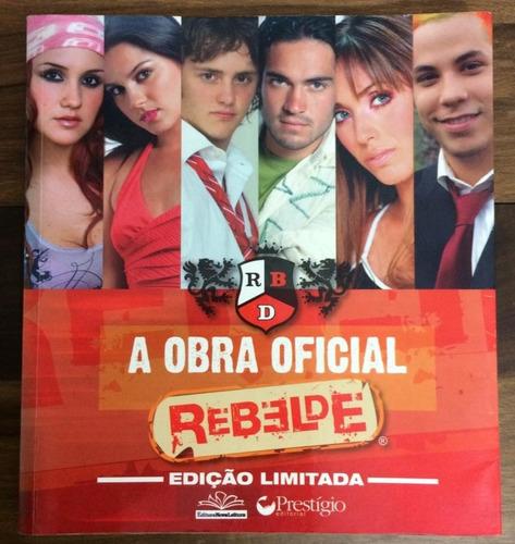 livro a obra oficial rebelde rbd novela igual novo promoção