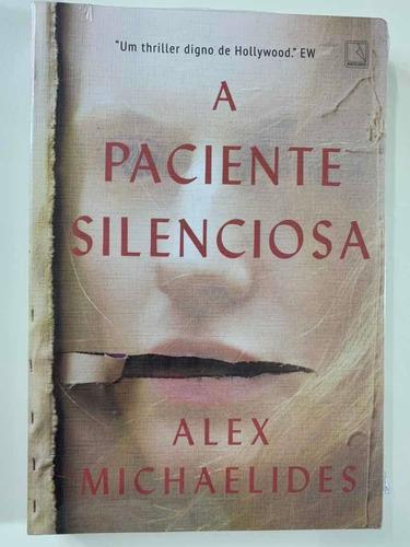 livro - a paciente silenciosa - novo - lacrado