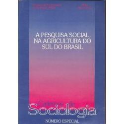 livro a pesquisa social na agricultura do sul do brasil