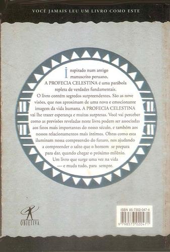 livro a profecia celestina james redfield 294 págs.