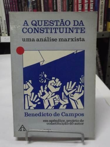 livro - a questão da constituinte ( uma análise marxista)