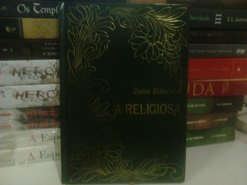 livro - a religiosa  denis diderot