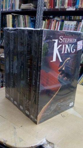 livro a torre negra - 7 volumes stephen king