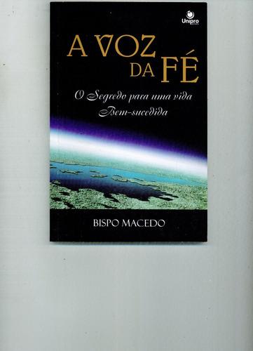 livro a voz da fé - bispo macedo - 123 pg