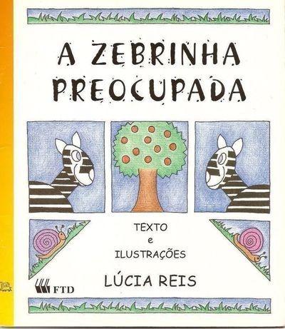 Livro A Zebrinha Preocupada - Série Arca De Noé Lúcia Reis - R$ 28 ...