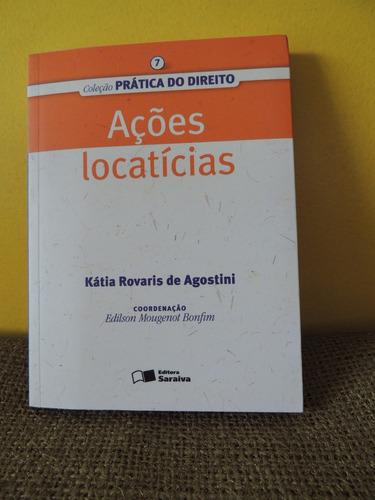 livro ações locatícias kátia rovaris de agostini ed saraiva