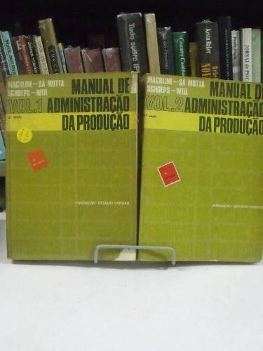 livro - administração da produção 2 volumes