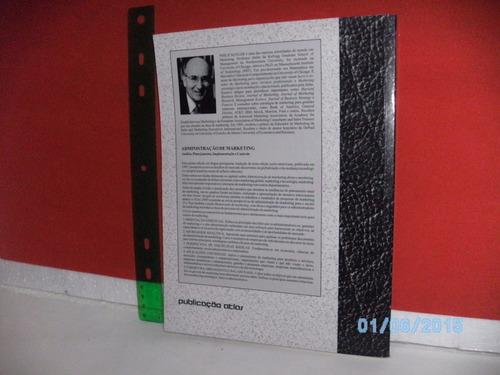 livro administração de marketing manual profº 5ªed atlas1998