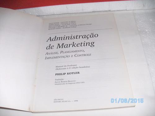 livro administração marketing