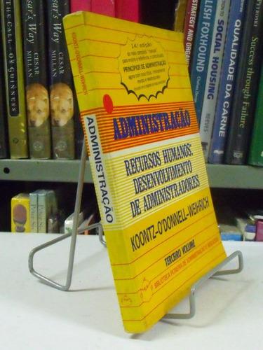 livro - administração - recursos humanos: desenvolvimento de