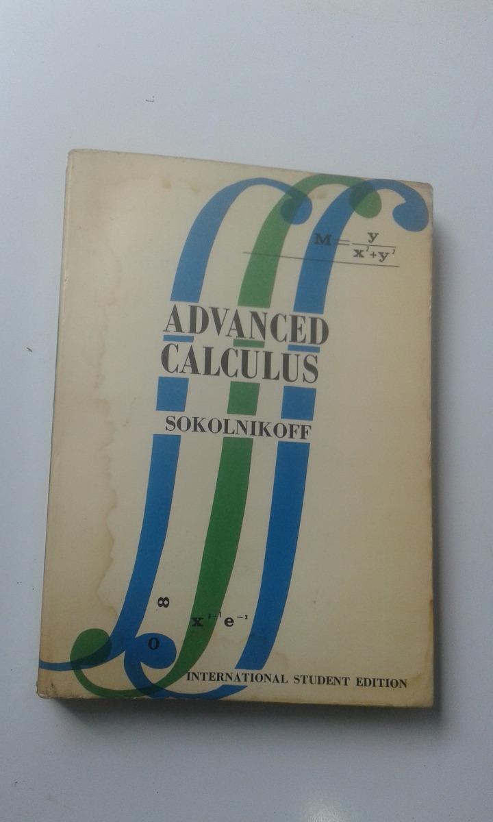 Advanced Calculus [Intl Student edn]