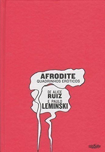 livro afrodite. quadrinhos eróticos paulo leminski