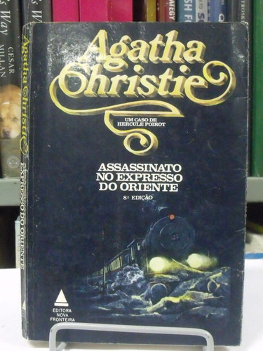 livro - agatha crhistie - assassinato no expresso do oriente
