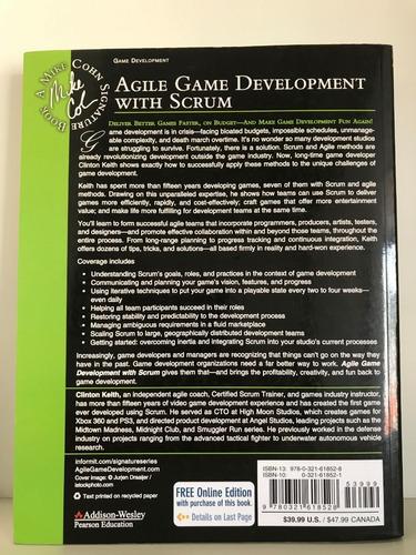 livro agile game development with scrum (em inglês)
