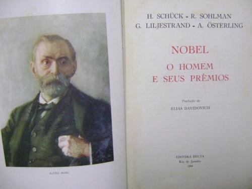 livro alfred nobel o homem e seus prêmios henrik schück