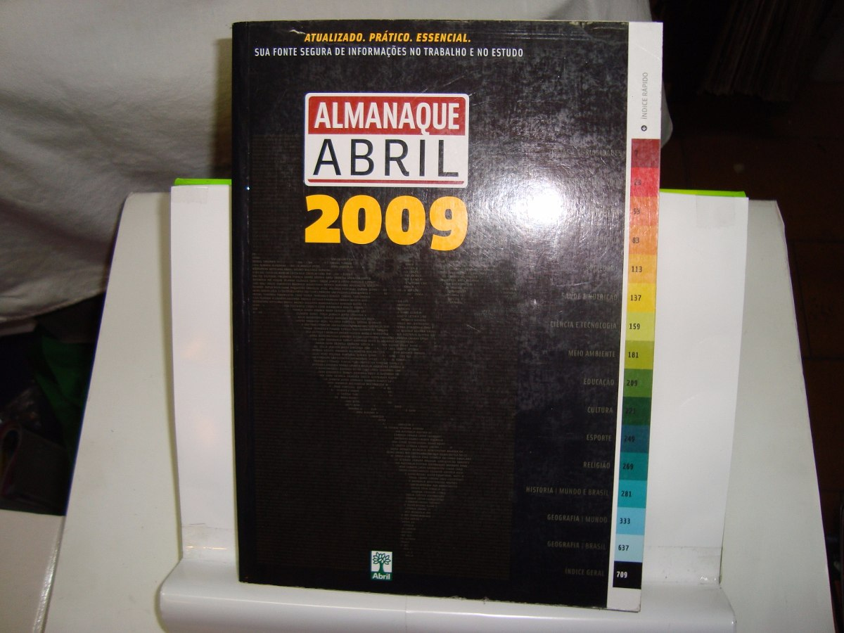 almanaque abril 2009