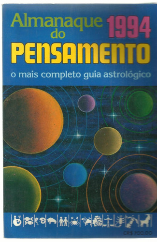 livro almanaque do pensamento 1994
