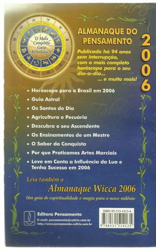 livro almanaque do pensamento 2006