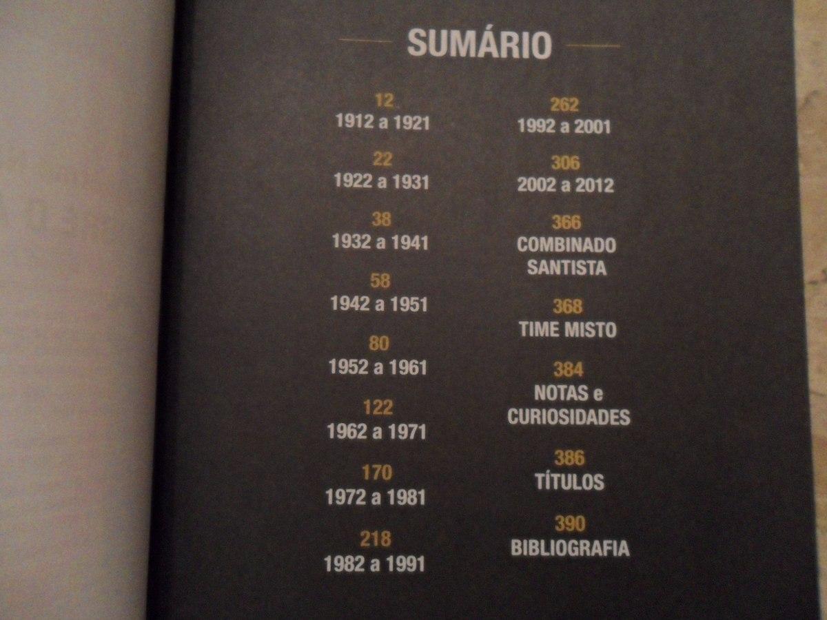 livro almanaque do santos f.c. Carregando zoom. e1e981eee99c3