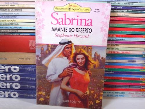 livro - amante do deserto - sabrina 1086 stephanie howard