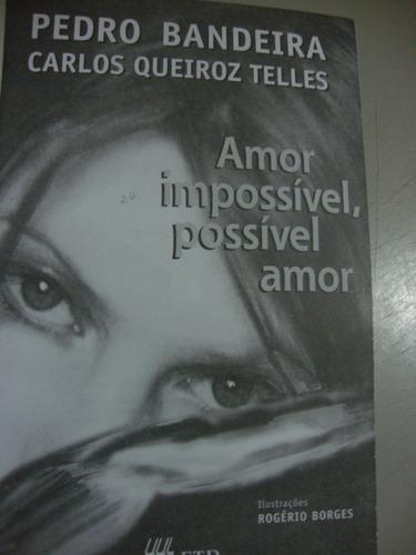 livro   amor impossível, possível amor