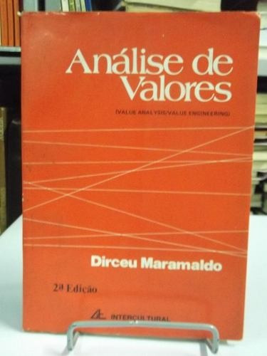 livro - análise de valores - dirceu maramaldo