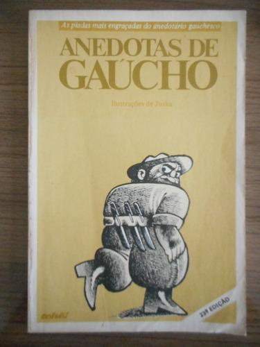 livro anedotas de gaúcho- paulo custódio