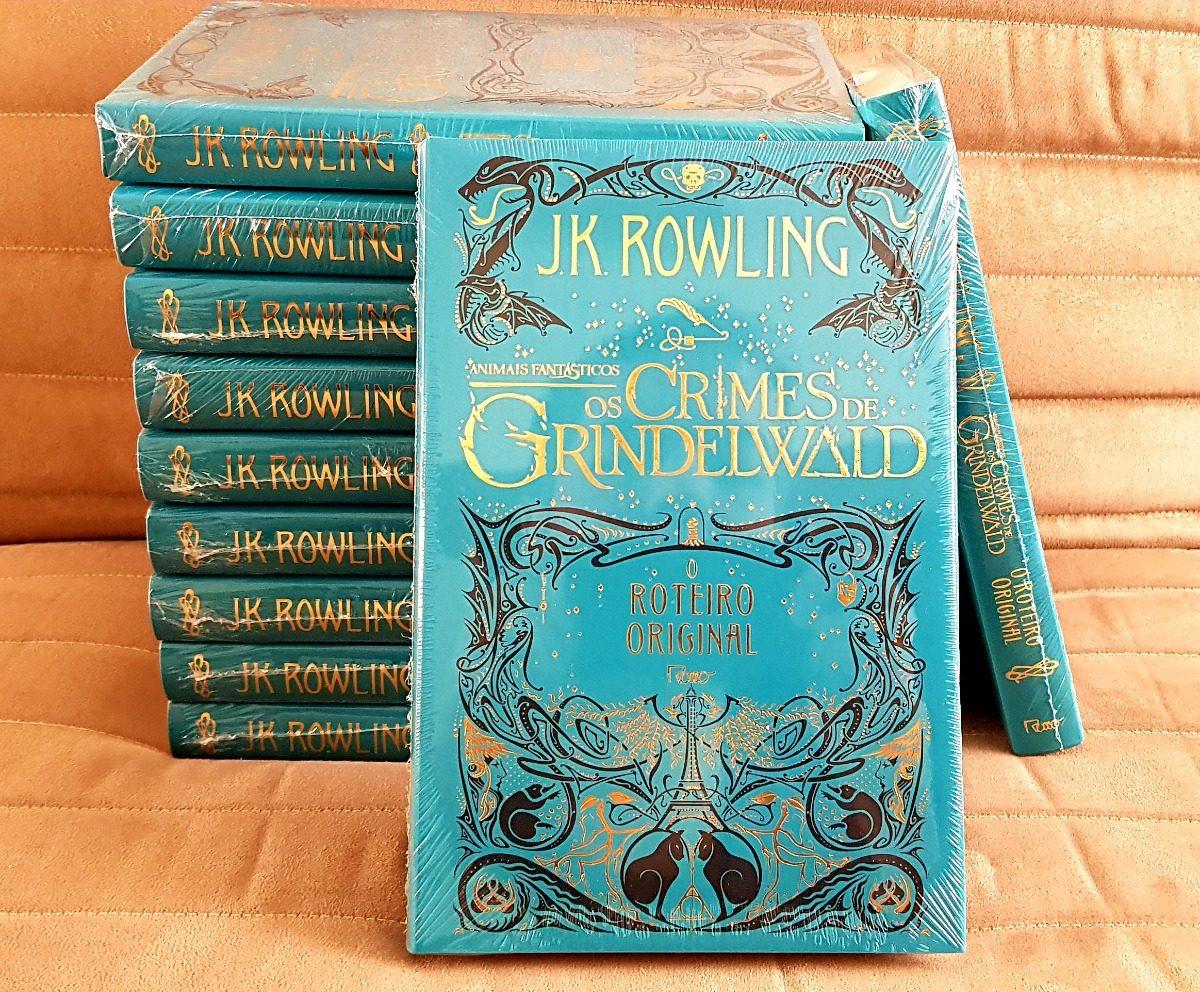 Livro Animais Fantasticos Crimes De Grindelwald Capa Dura R
