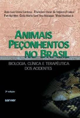 livro animais peçonhentos no brasil