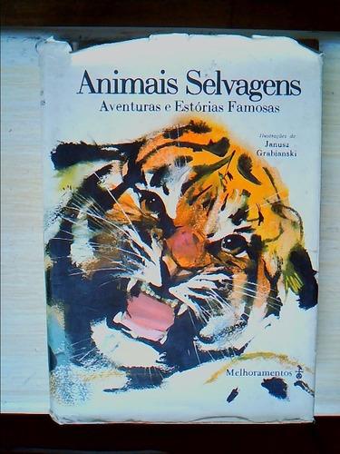 livro animais selvagens - ilustrações de janusz grabiansk