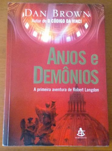 livro anjos e demônios - dan brown