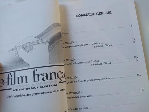 livro - annuaire du cinema français et de l'audiovisuel