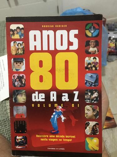 livro anos 80 de a a z