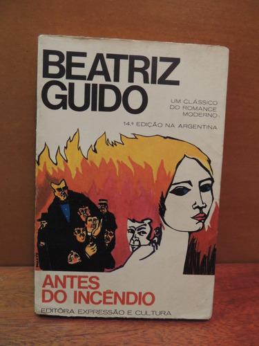 livro antes do incêndio beatriz guido