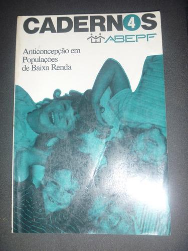 livro - anticoncepção em populações de baixa renda