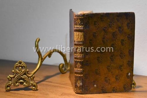 livro antigo raro - instrucções a fim de se rezar 1798