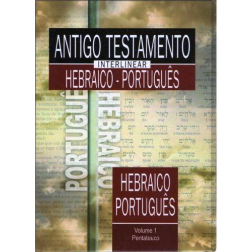 livro antigo testamento interlinear hebraico-português vol 2