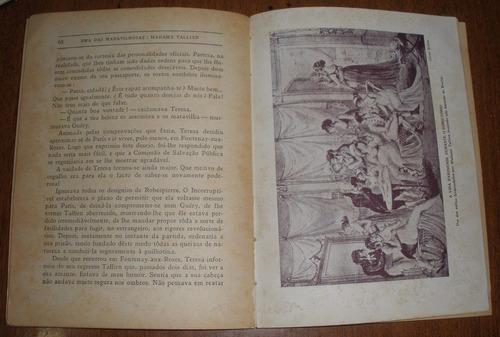 livro antigo uma das maravilhosas madame tallien ilustrado