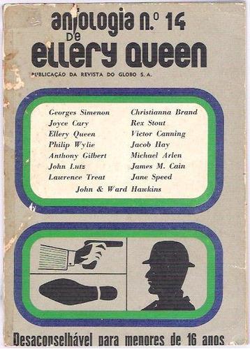 livro antologia de ellery queen nº 14