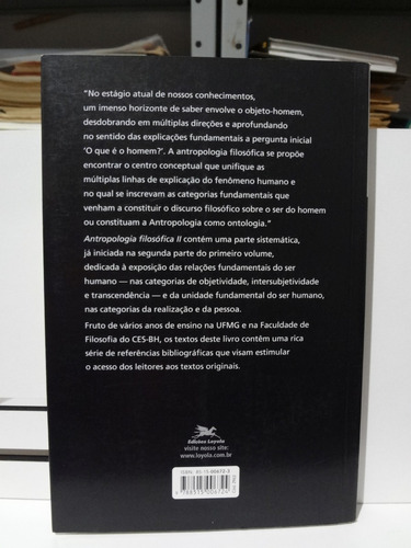 livro antropologia filosofica ii henrique vaz