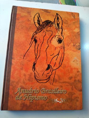 livro - anuário brasileiro de hipismo - 2006/2007
