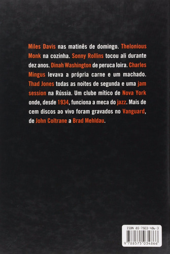 livro ao vivo no village vanguard max gordon cosac naify