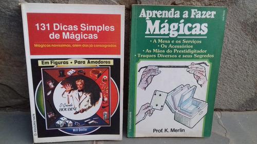 livro aprenda a fazer mágicas + 131 dicas simples de mágicas