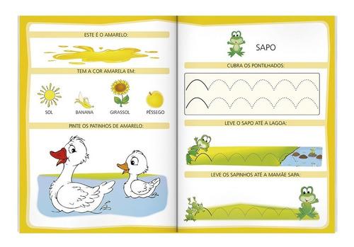 livro aprendendo a escrever letras de forma 96 paginas