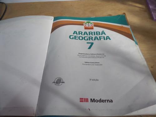 livro arariba geografia 7 ano